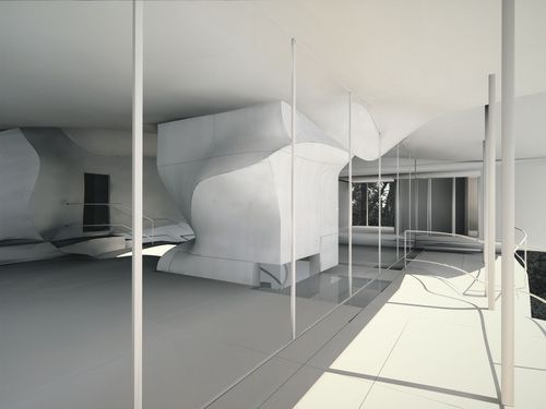 Preston Scott Cohen - Torus Wolf House No. 2 Project