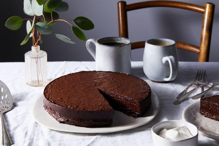 Chocolate Nemesis Recipe On Food52 Recipe Flourless Chocolate Cakes Flourless Chocolate Food 52