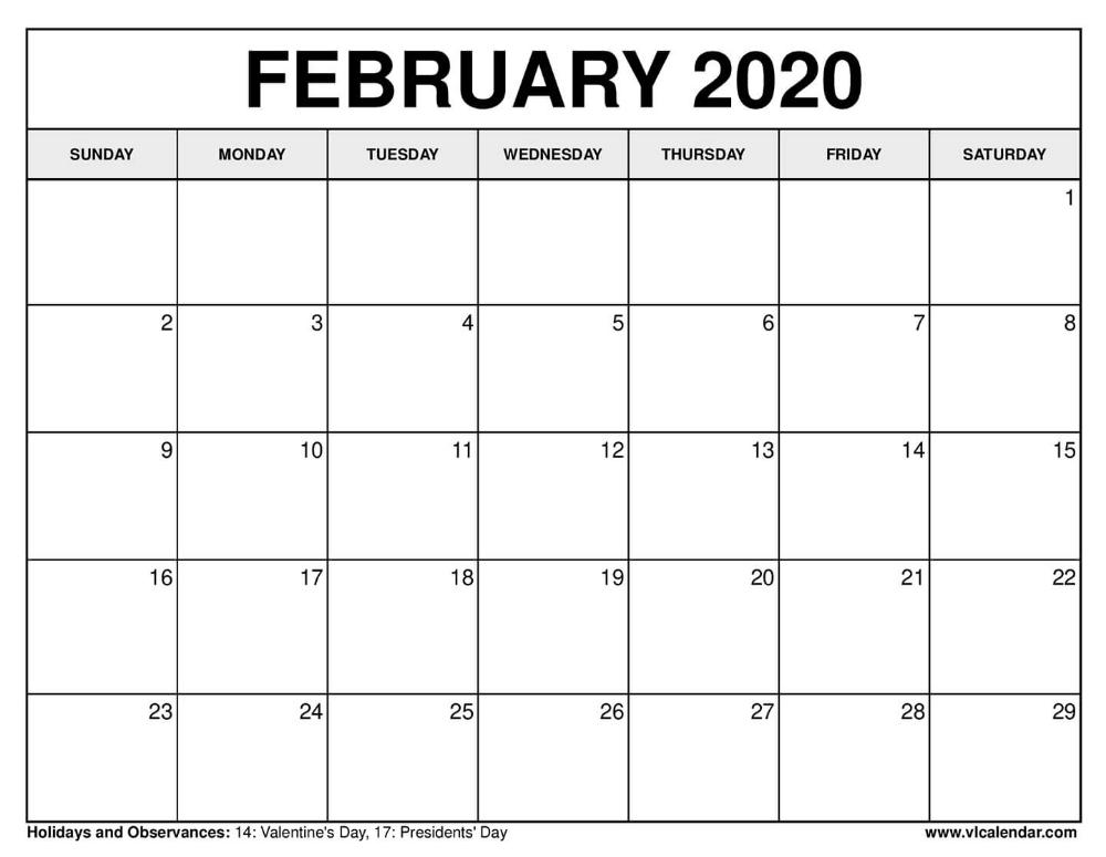 February 2020 Calendar December Calendar 2021 Calendar Calendar