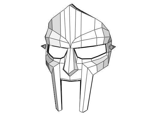 Life Size Mf Doom Mask Free Papercraft Download Http Www Papercraftsquare Com Life Size Mf Doom Mask Free Papercra Mf Doom Mask Papercraft Download Mf Doom