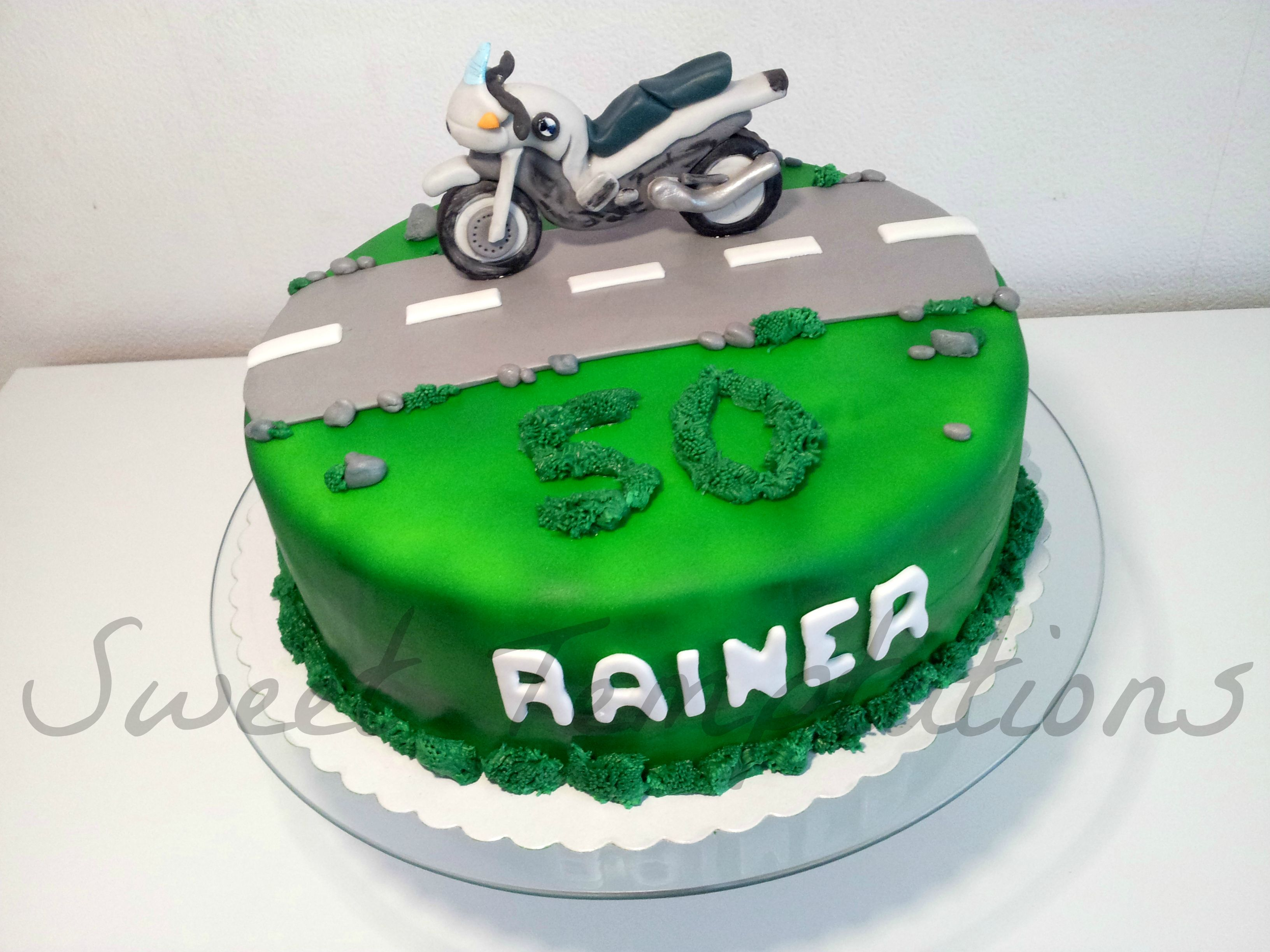 Birthday Cake For Joseph ~ Motorbike cake birthday cake for a big motorcycle fan cakes