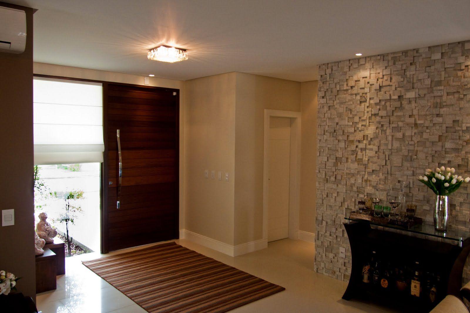 Mosaico De Parede Parede Texturizada Em Pedra Ferro Gesso Ou  -> Acabamento De Sala E Cozinha