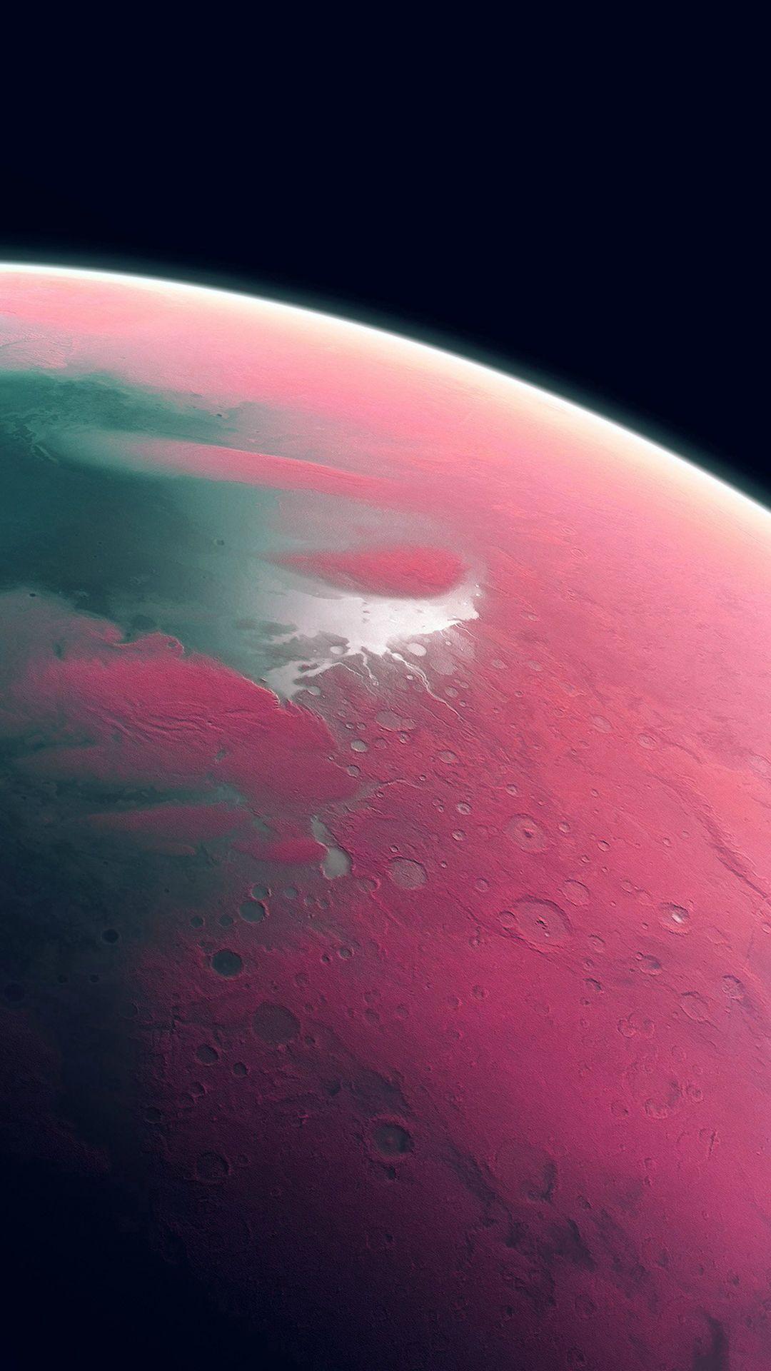Earth Art Pink Dark Space IPhone 8 Wallpapers