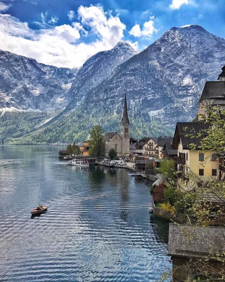 Austria Beautiful destinations, Hallstatt, Travel abroad