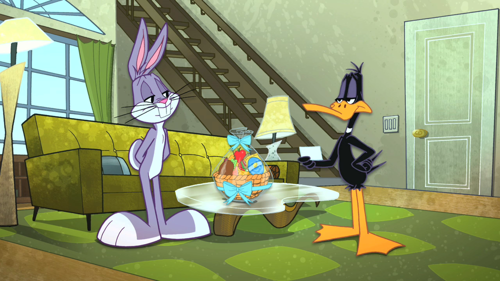 French Fries Looney Tunes Show Daffy Duck Bugs Bunny