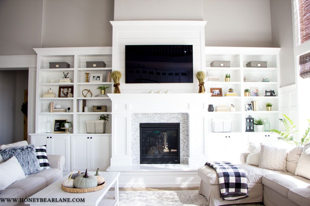 Fantastic Pictures Fireplace Remodel with built ins Ideas