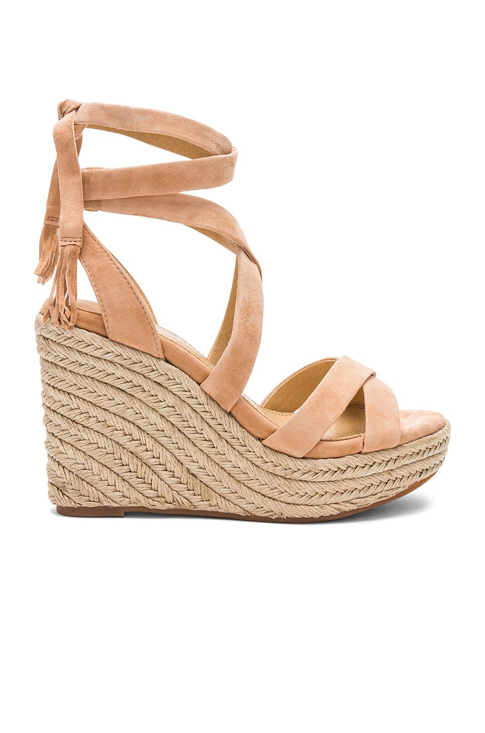 24728bb428a Splendid Janice Wedge in Nude | SS17 in 2019 | Espadrilles, Shoes ...