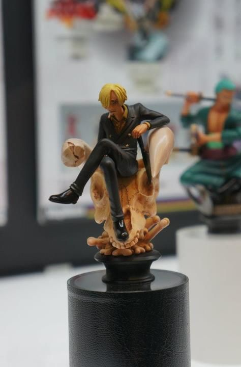 Sanji Megahouse ONE PIECE Chess Collection Vol.1 Bishop White