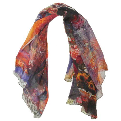 Silk Square Scarf - Painted Desert by VIDA VIDA t2djVmqum