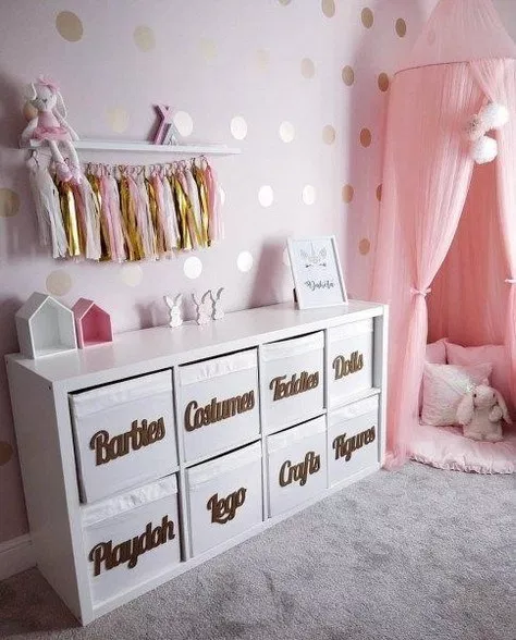 Types Of Kids Rooms Ideas For Girls Toddler Daughters Princess Bedrooms Baby Room Decor Girls Room Decor Kid Room Decor
