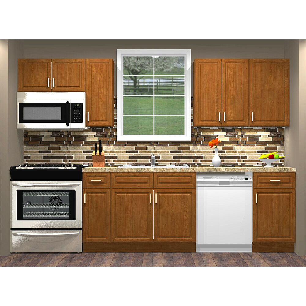 Best Details About Lily Ann Cabinets Rta 10 Foot Run All Birch 400 x 300