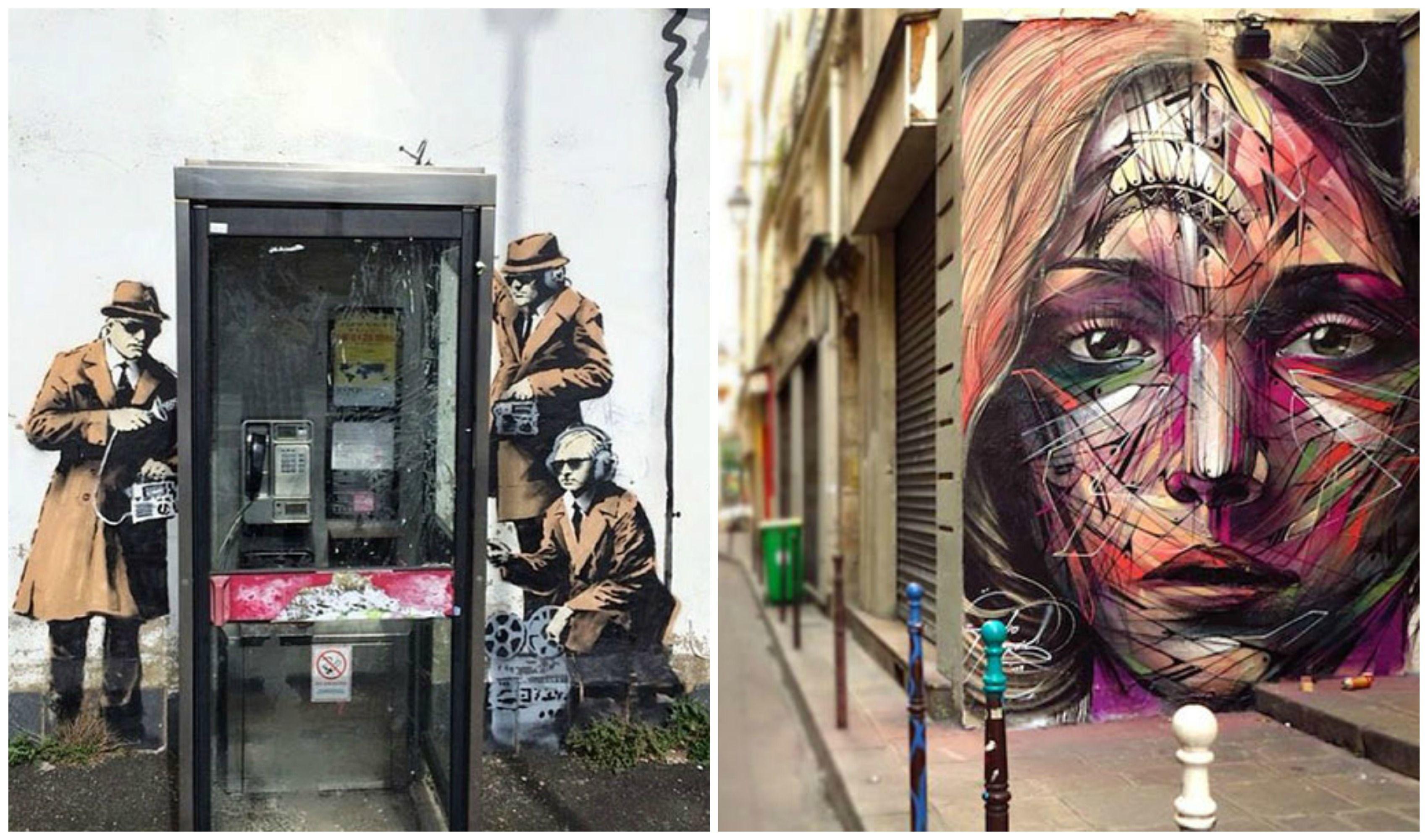 À l'heure où les musées s'emplissent d'oeuvres de plus en plus abstraites voire absolument dégueulasses, l'art trouve une nouvelle voix dans les murs de nos villes. En 2014, le street art a continué à