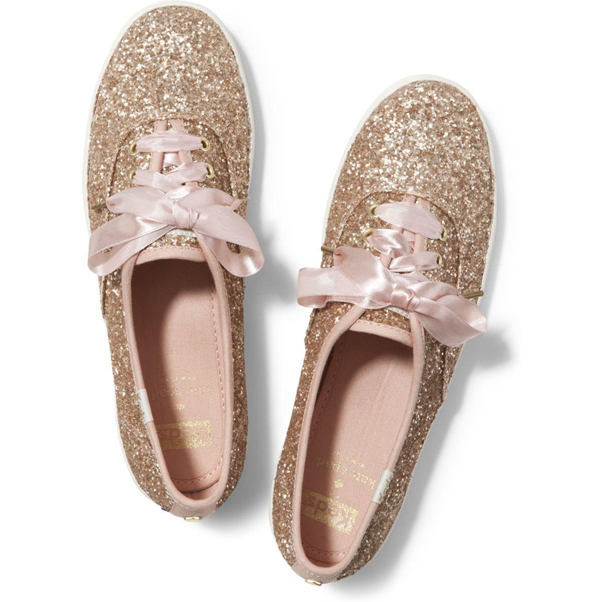 Girl's Keds X Kate Spade New York Champion Glitter Sneaker