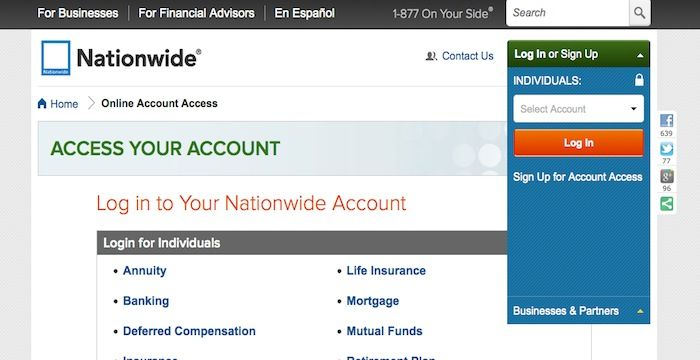 Nationwide Login | Login Archives | Car insurance online