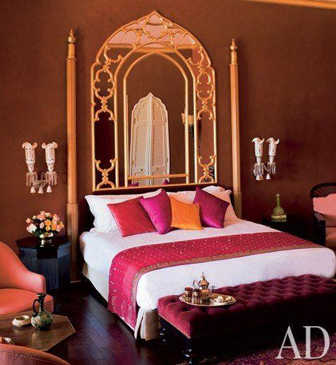 Best Moroccan Fantasy Indian Style Bedrooms Oriental Bedroom 400 x 300