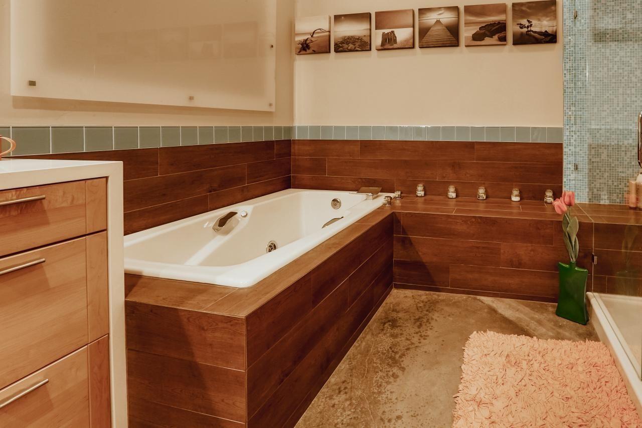 Remodeled Loft Becomes Modern Home   Pinterest   Spa bathrooms ...