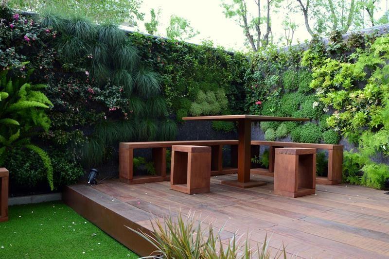La paisajista paisajismo y dise o de jardines proyectos de paisajismo d d house exterior - Jardines y paisajismo ...