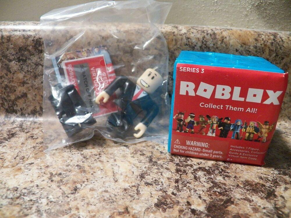 Roblox Series 3 Patient Zero Mini Figure Without Code No Packaging - Bloxburg Car Salesman Roblox Mini Figure With Virtual Game