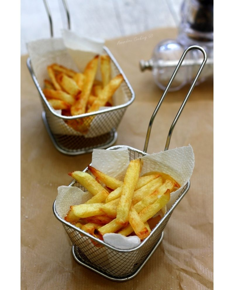 frites au four cuisine pinterest recette de frites les frites et tout le monde. Black Bedroom Furniture Sets. Home Design Ideas