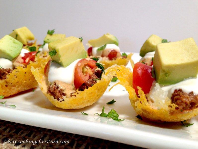 Mini Taco Bites - Keto and Low Carb - Keto Cooking ...