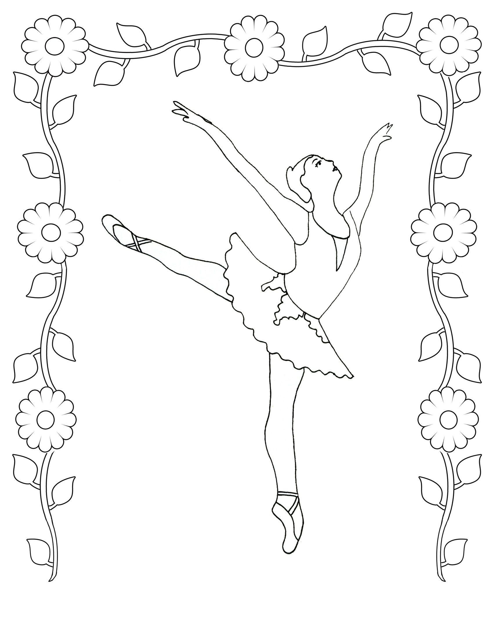 Hairy Ballet Dancer Coloring Pages Fresh Ballerina Coloring Book