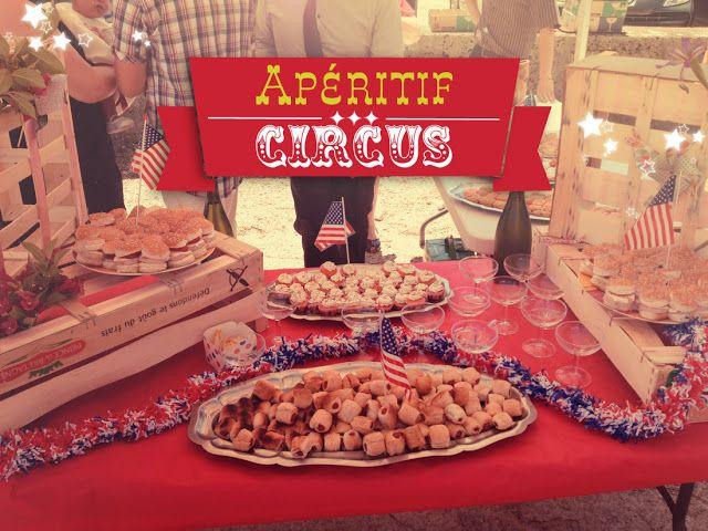 circus birthday buffet, aperitif cirque, mini burgers, cupcakes salés, pop corn salé coloré