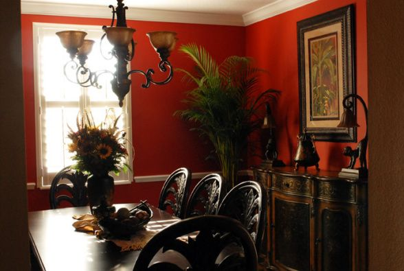 West Indies Tropical Decorating  Red, Hot  Tropical -3584