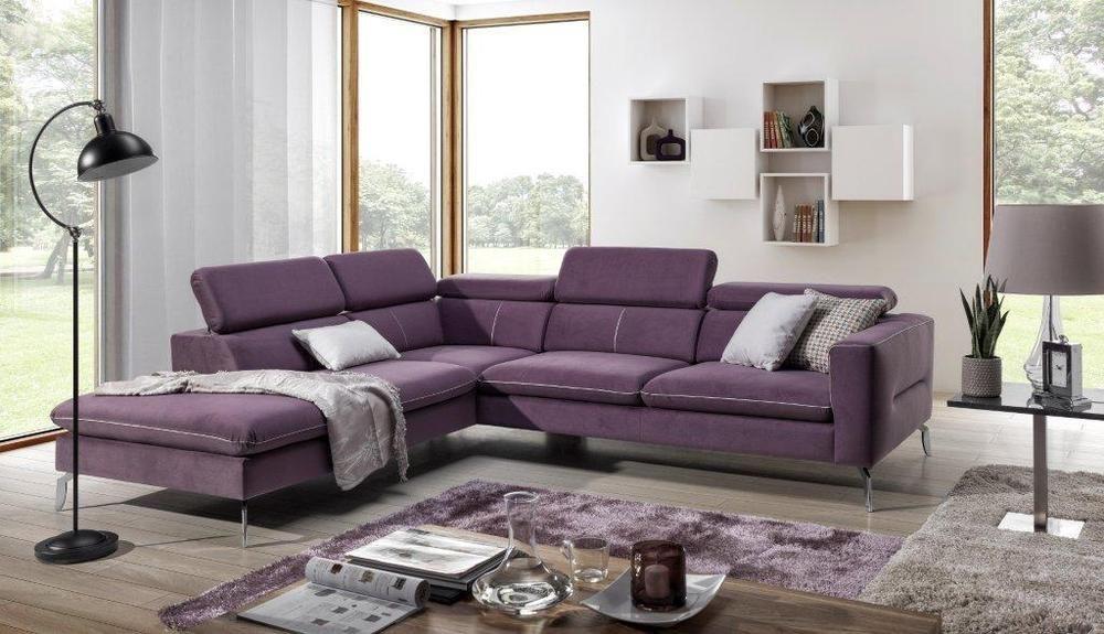 Couchgarnitur Couch AREZA ol+2,5bp Sofa Wohnlandschaft - big sofa oder wohnlandschaft