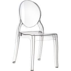 Zuiver Desinger Stuhl Esszimmerstuhl Elizabeth transparent stapelbar