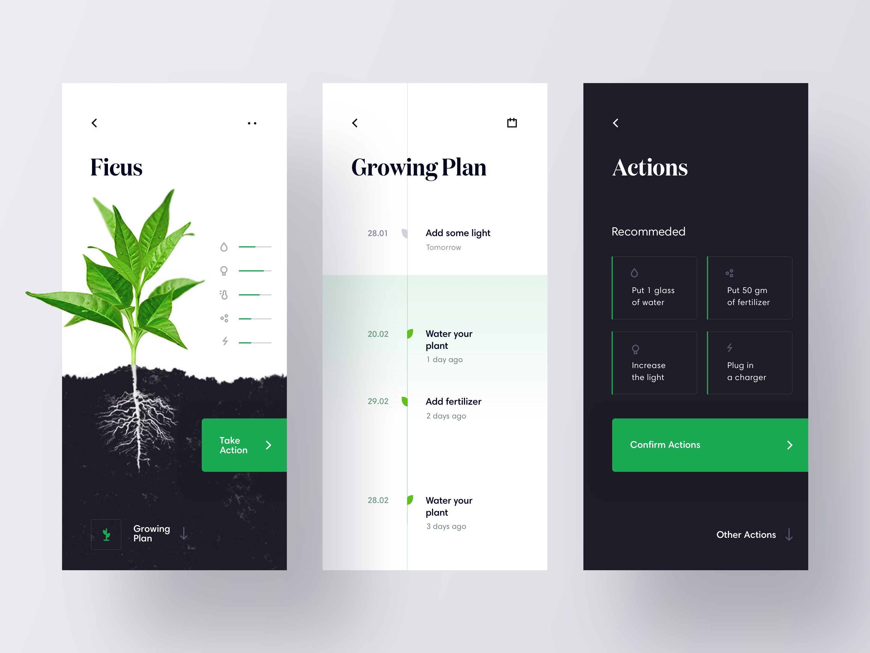 UI Design Inspiration 18 - UI UX - Inspirations - Graphicroozane #interfacedesign