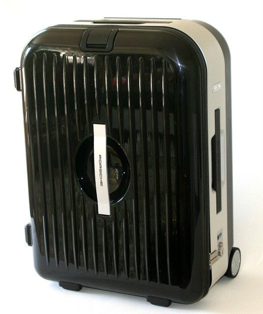 NWT Porsche Rimowa AluFrame M Trolley Case Hard Suitcase Rolling Luggage -  Black | eBay