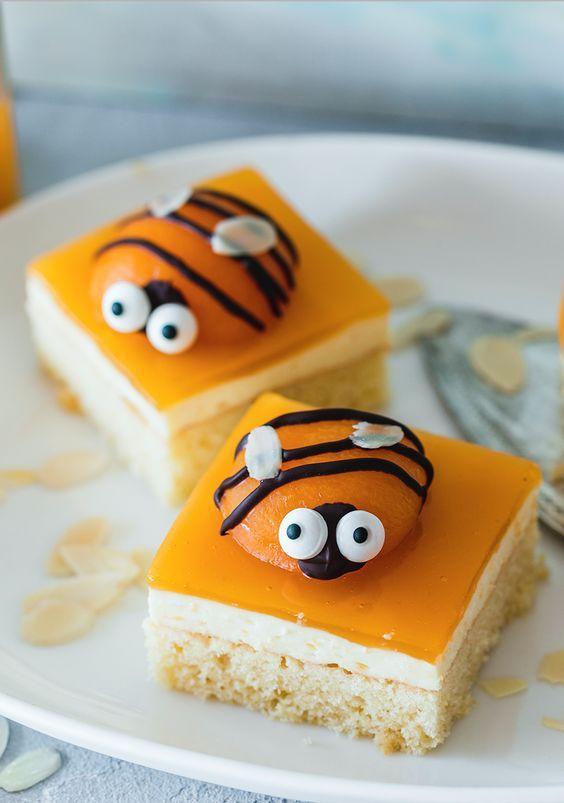 Bienenkuchen vom Blech #geburtstagskuchenkinder