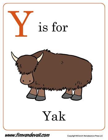 Y Is For Yak Letter Y Coloring Page Pdf Alphabet Phonics Alphabet Preschool Phonics Kindergarten