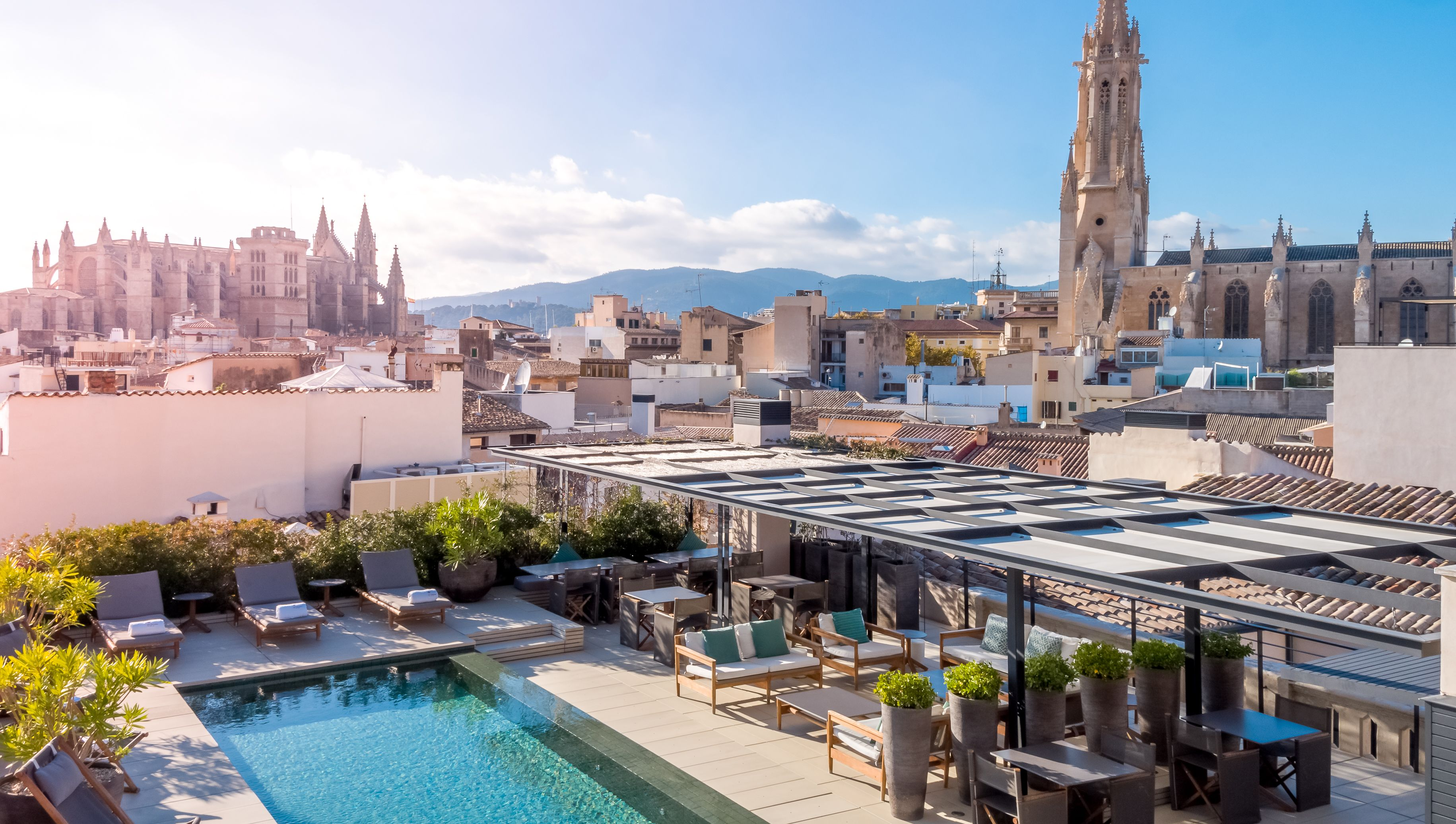 Rooftop Sushi Bar Hotel, Places to go, Majorca
