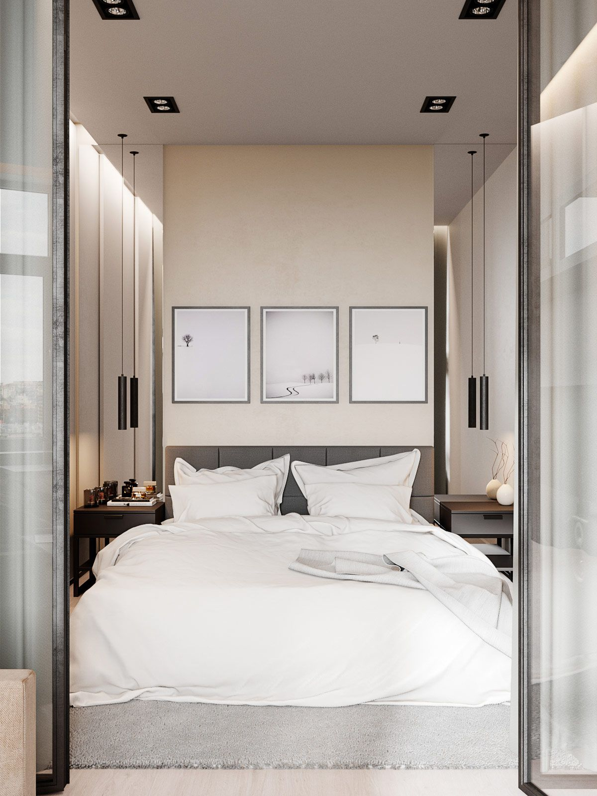 Cosy Spaces With An Essence Of Music In The Air Bedroom Design Inspiration Tiny Bedroom Design Small Bedroom Designs Cosy studio bedroom designs