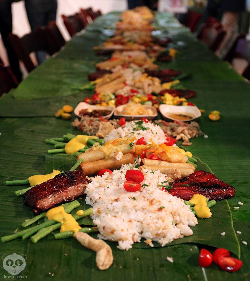 First Kamayan Filipino Feast In Orlando #FilipinoFood