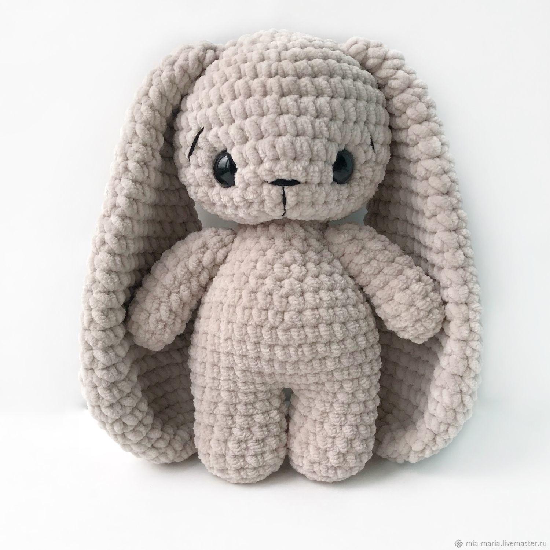 Зефирный заяц с длинными ушами – заказать на Ярмар