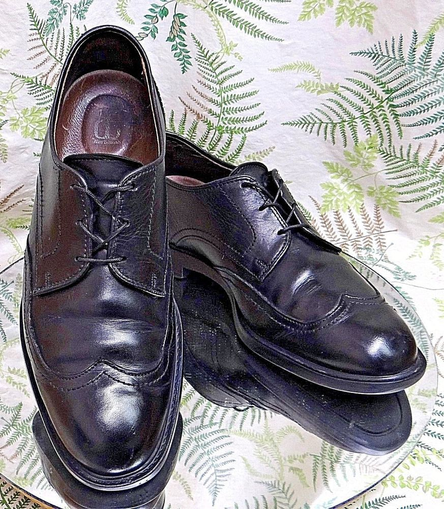 ALLEN EDMONDS BROWN LEATHER WING TIP LOAFERS BUSINESS DRESS SHOES MENS SZ 11 C