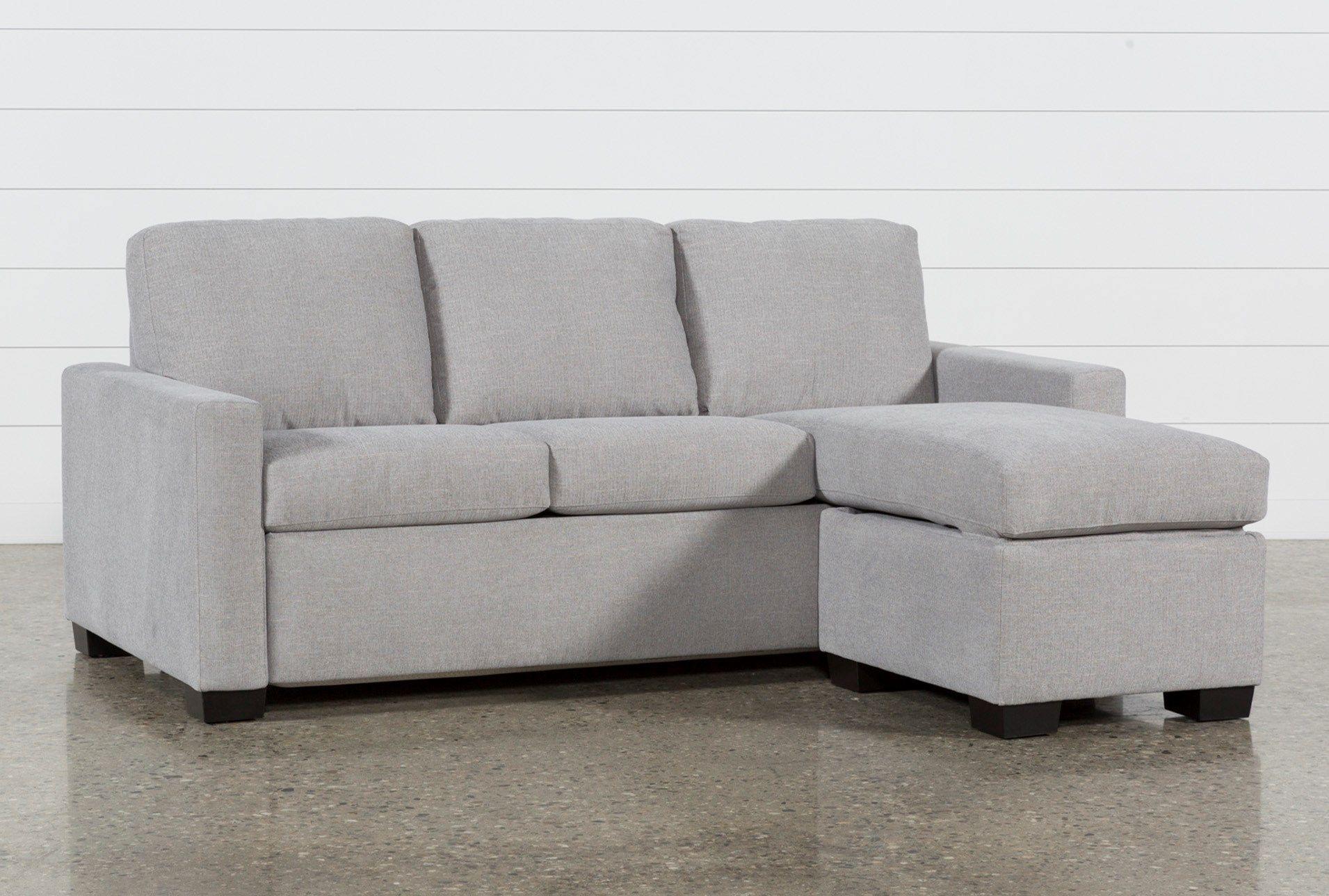 Mackenzie Silverpine Queen Plus Sofa Sleeper W/ Storage