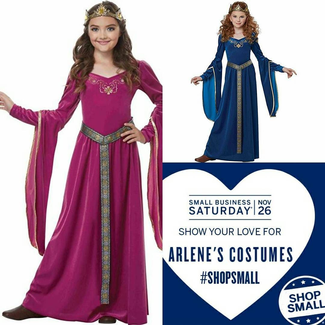 Join us for #SmallBusinessSaturday If you can't be here in Rochester NY to check out our beautiful showrooms you should definitely check out our brand new website www.arlenescostumes.com or our Amazon page. Consider purchasing your children or grandchildren costumes and accessories to encourage imaginative play through costuming! They are also perfect for theater productions and school history days! #shopsmall #shoplocal #history #smallbusiness #localbusiness #imaginativeplay #renaissance…