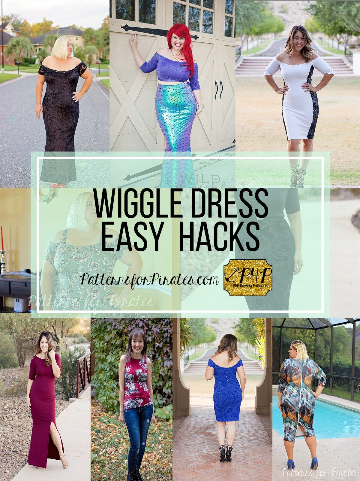 Wiggle Dress Easy Hacks Patterns For Pirates Wiggle Dress