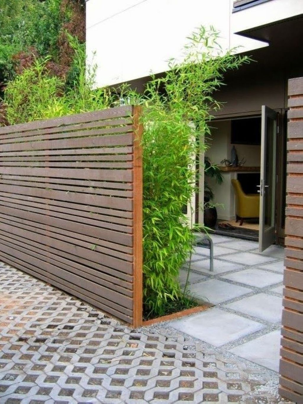 20 Fabulous Wooden Fence Design Ideas For Home Trenduhome Modern Fence Design Fence Design Privacy Fence Designs