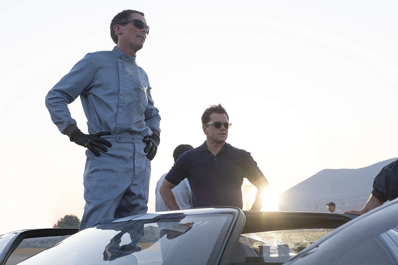 Christian Bale And Matt Damon In Ford V Ferrari 2019 In 2020