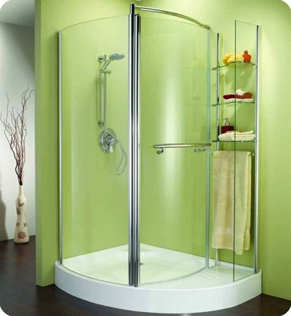 Bathroom Corner Shower icon of corner shower units for small bathroom: solving space