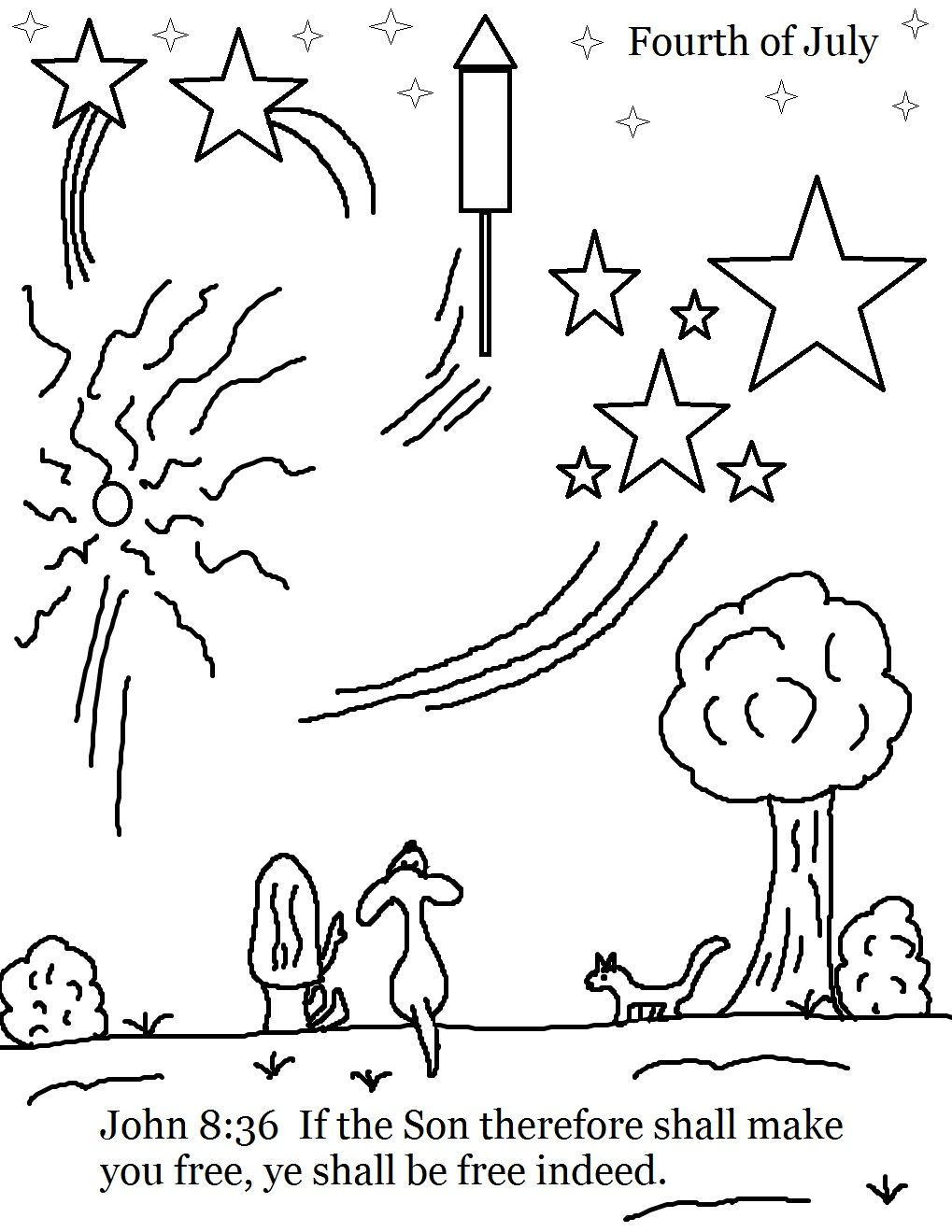 Free coloring pages children's church