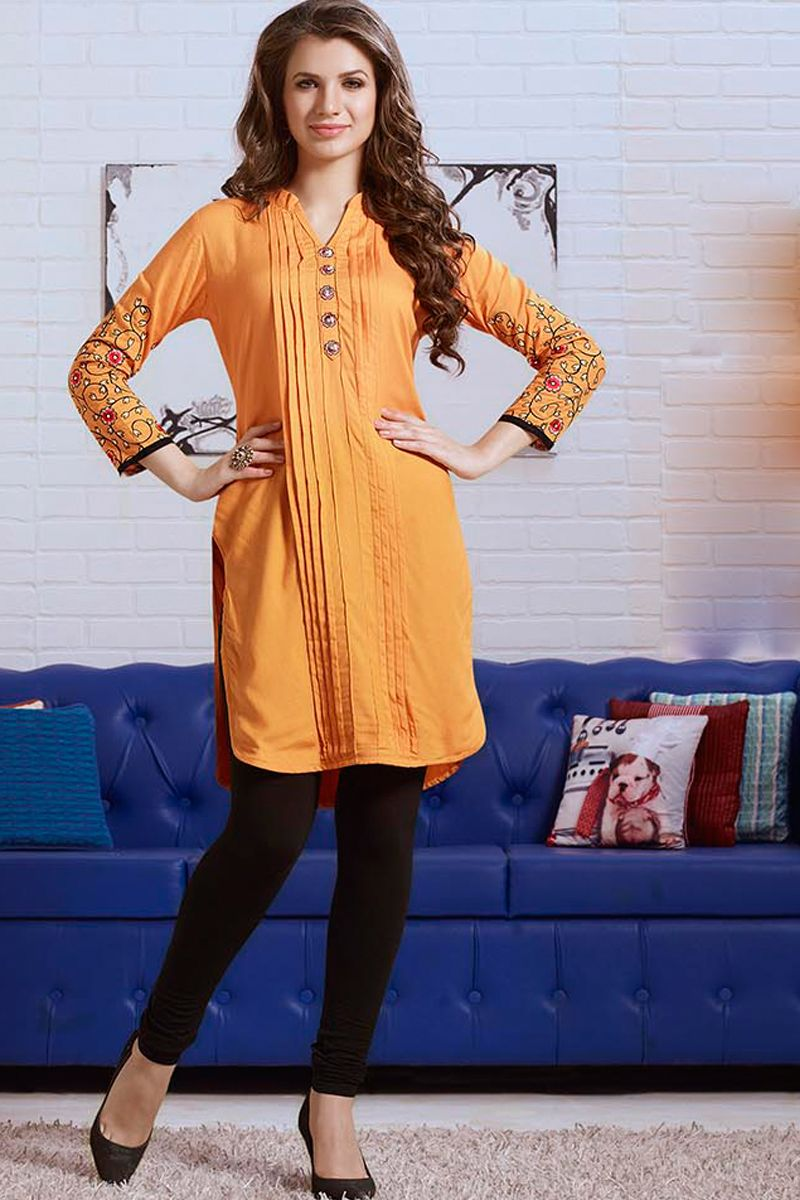 Simple Office Wear And Daily Wear Kurtis Which Gives You Sober look....