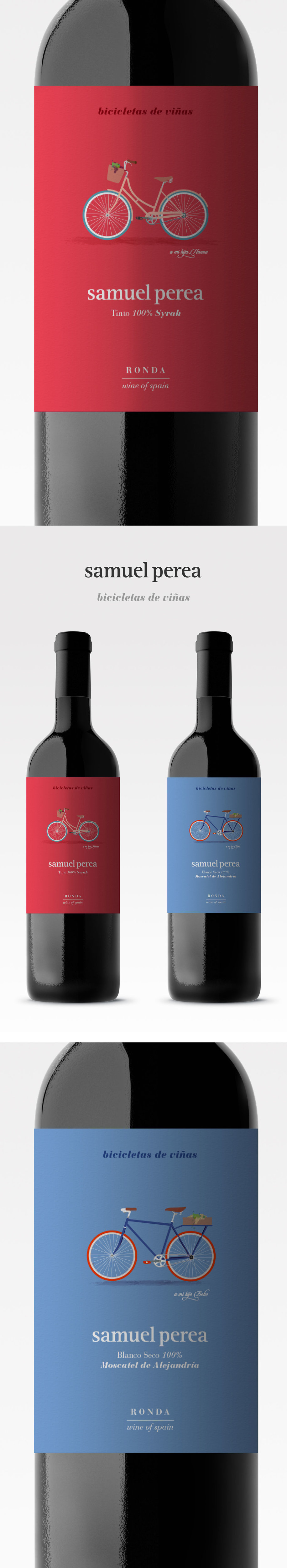 Descripcion Offline Tv Film Diseno De Etiqueta De Vino Para Samuel Perea Bicicletas De Vinas Video Tv Film Wine Label Design Wine Label Wine Design