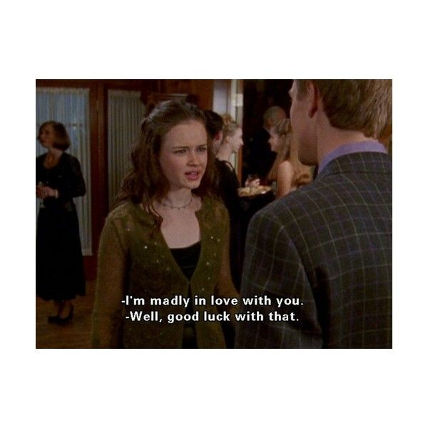 rory gilmore television ❤ liked on Polyvore featuring words