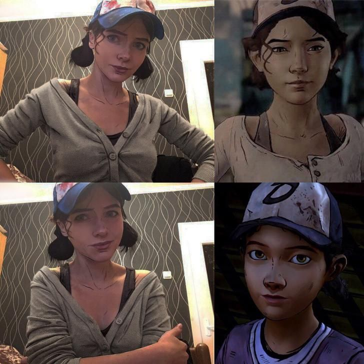 Clementine - The Walking Dead game - Album on Imgur cool stuff by - walking dead halloween costume ideas