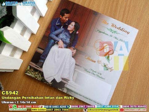 Undangan Pernikahan Intan Dan Rizky Undangan Softcover Souvenir